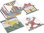 Kralo voorbeeldkaarten vierkant 12 stuks