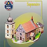 Sint Sigismund kerk in Schindeldorf / Sopotnice