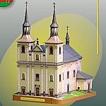 Kerk Maria ten Hemelvaart in Letohrad Orlice