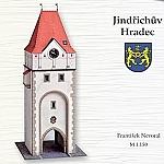 Stadstoren in Jindrichuv Hradec