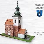 Sint Jakobs Kerk in Stribrna Skalice