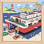 Verkeerspuzzel veerboot Educo