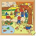 Seizoenenpuzzels 2 de herfst