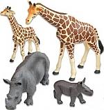 Afrikaanse savanne dieren 18 delige set