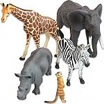 Afrikaanse savanne dieren 10 delige set