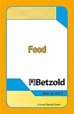 Food - kaartenset voor Magische hoed