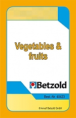 Vegetables & Fruits met de Magische hoed