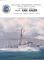 Hr.Ms. Van Galen 1:250