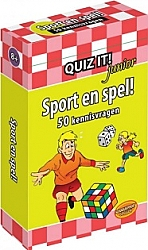 Sport en spel! Quiz it Junior