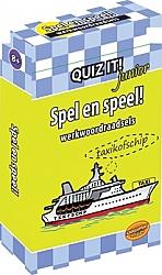 Spel en speel! Werkwoordraadsels Quiz it! Junior