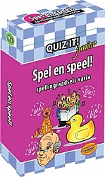 Spel en speel! Spellingraadsels varia Quiz it! Junior