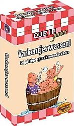 Varkentjes wassen! Quiz it! Junior
