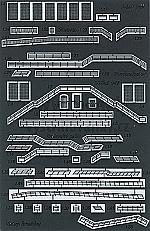 Kasteel Karlstejn lasercut detailset