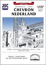 Chevron Nederland lasercut detailset