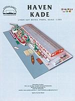 Haven-kade lasercut detailset