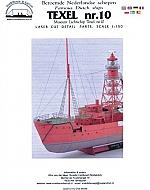 Lichtschip Texel nr. 10 schaal 1:150 detailset