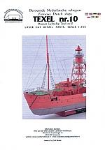 Lichtschip Texel nr. 10 schaal 1:250 detailset