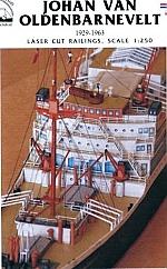 MS Johan van Olden-barnevelt relingset