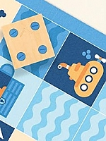 Cubetto Blauwe oceaan set