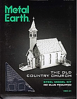 Metal Earth Old Country Church