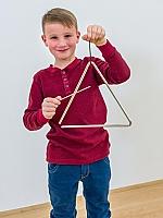 Triangel 8 mm dik 25 cm breed