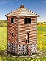 Romeinse houten wachttoren