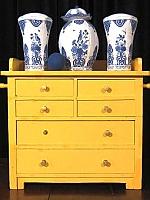 Delfts blauw kegel kaststel - Piet Design