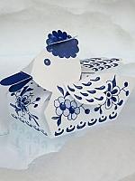 Delfts blauwe badeend - Piet Design