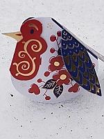 Imari roodborstjes Piet Design