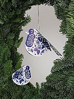 Delfts blauwe Rood-borstjes - Piet Design
