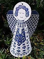 Delfts blauwe Engel Piet Design
