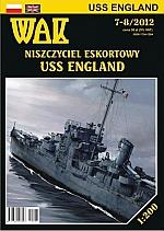 USS England DE 635 destroyer