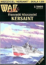 Kersaint Franse torpedobootjager 1939