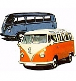 VW-bus Samba en Combo