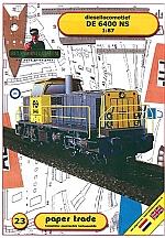 Diesellocomotief DE 6400 NS 1:87