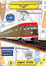 NS electrisch driewagen-treinstel Mat. 1936 1:87