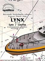 Loodstender Lynx met laser detail set