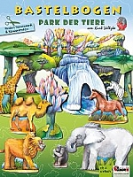 Park der dieren 3D knutselset