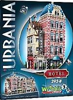 Wrebbit 3D Puzzle Urbania Hotel