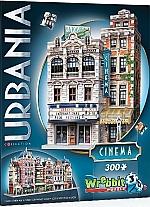 Wrebbit 3D Puzzle Urbania Cinema