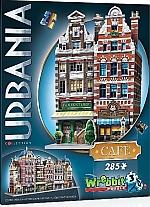 Wrebbit 3D Puzzle Urbania Café