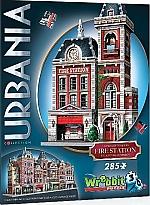 Wrebbit 3D Puzzle Urbania Fire Station