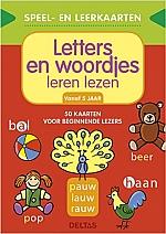 Letters en woordjes leren lezen - Deltas