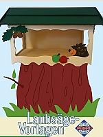 Figuurzaag voorbeeld vogelhuis