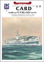 Card vliegdekschip, U- boten + lasercut 1:250