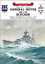 Admiral Hipper of Blücher 1:400
