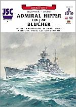 Admiral Hipper of Blücher 1:400
