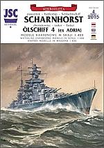 Slagschip Scharnhorst 1:400