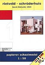 Schröderhuis Gerrit Rietveld 1924 - 1:50