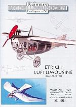 Etrich Luftlimousine uit 1912 - 1:24